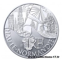 10 €uros France 2011 Haute Normandie