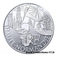 10 €uros France 2011 Haute Normandie