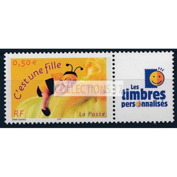 France - Personnalisé 3634A - Timbre neuf sans charnière