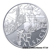 10 €uros France 2011 Alsace
