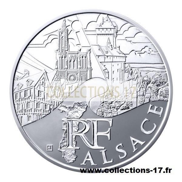 10 €uros France 2011 Alsace