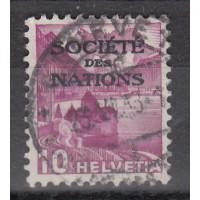 Suisse - numéro 98 Service - Oblitéré