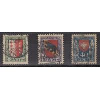 Suisse - numéro 185/87 - Oblitéré