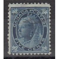 Canada - numéro 58 - oblitéré
