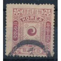 Corée - numéro 8 - oblitéré