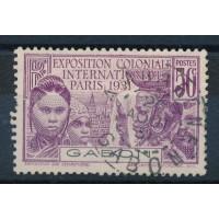 Gabon - numéro 122 - oblitéré, neuf avec charnière