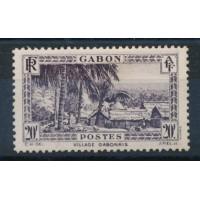 Gabon - numéro 146 -  neuf avec charnière