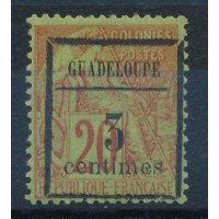 Guadeloupe - numéro 3 - neuf avec charnière
