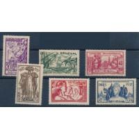 Sénégal - numéro 138/43 - neuf avec charnières