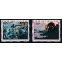Madagascar - PA numéro 110 et 111 - neuf sans charnière