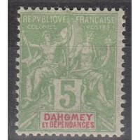 Dahomey - numéro 9 - Neuf avec charnière