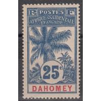 Dahomey - numéro 24 - Neuf avec charnière