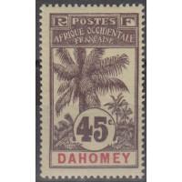 Dahomey - numéro 27 - Neuf avec charnière