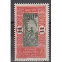 Dahomey - numéro 84 - Neuf avec charnière