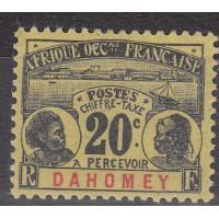 Dahomey - Taxe numéro 4 - Neuf avec charnière