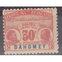 Dahomey - Taxe numéro 5 - Neuf avec charnière