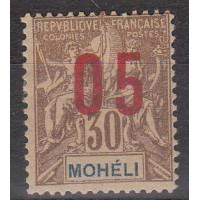 Mohéli - numéro 19A - Neuf avec charnière