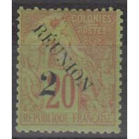 Réunion - Numéro 31 - neuf avec charnière