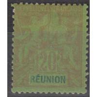 Réunion - Numéro 38 - neuf avec charnière