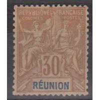 Réunion - Numéro 40 - neuf avec charnière