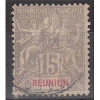 Réunion - Numéro 48 - Oblitéré