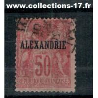 Alexandrie - Numéro 14 type I - Oblitéré