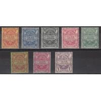Réunion - Taxe Numéro 6 à 13 - Neuf avec charnière