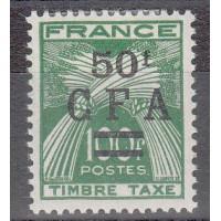 Réunion - Taxe  Numéro 44 - Neuf avec charnière