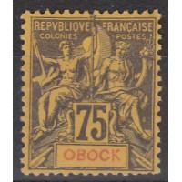 Obock - Numéro 43 - neuf avec charnière