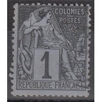 Colonies Françaises - numéro 46 - oblitéré