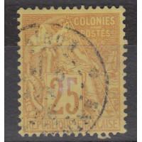 Colonies Françaises - numéro 53 - oblitéré
