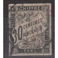 Colonies Françaises - Taxe numéro 9 - oblitéré