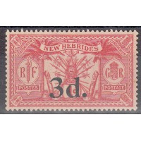 Nouvelles Hébrides - numéro 78 - Neuf sans charnière
