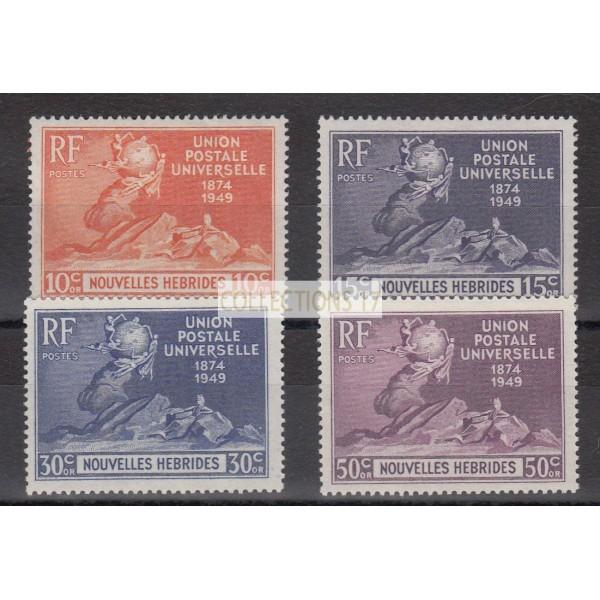 Nouvelles Hébrides - numéro 136 à 139 - Neuf sans charnière