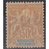 Madagascar - numéro 36 - neuf avec charnière