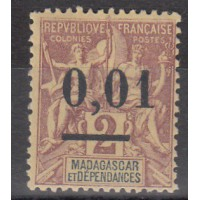 Madagascar - numéro 51 Type I - neuf avec charnière