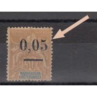Madagascar - numéro 52 Type I - Neuf sans gomme (voir descript)