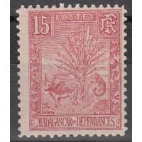 Madagascar - numéro 68 - Neuf avec charnière