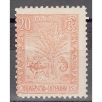 Madagascar - numéro 69 - Neuf avec charnière