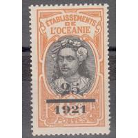 Océanie - numéro 46 - neuf sans charnière