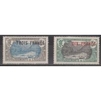 Océanie - numéro 66 et 67 - neuf avec charnière