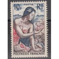 Polynésie - numéro 9  - neuf avec charnière