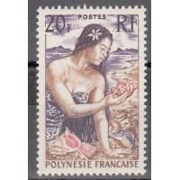 Polynésie - numéro 11  - neuf avec charnière