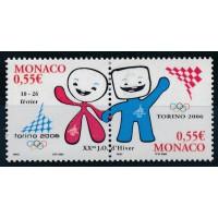 Monaco - numéro 2529 etv 2530 - neuf sans charnière