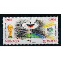 Monaco - numéro 2539 et 2540 - neuf sans charnière