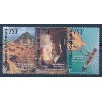 Nouvelle Calédonie - numéro 1107 à 1109 - neuf sans charnière