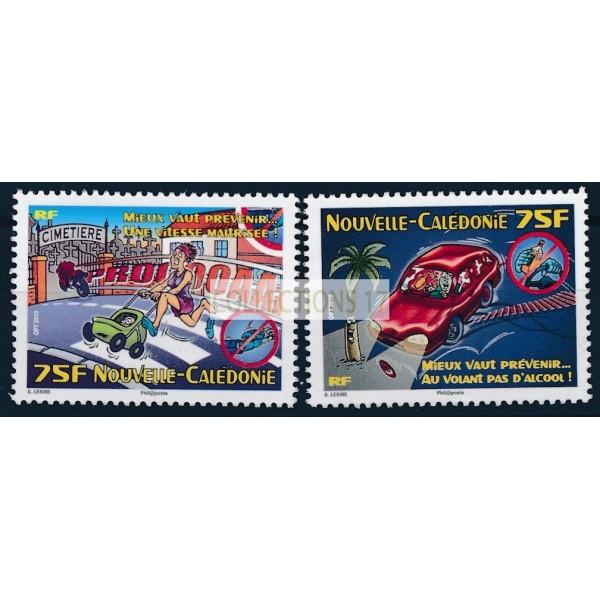 Nouvelle Calédonie - numéro 1113 et 1114  - neuf sans charnière