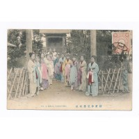 CPA : Japon, no 9 Girls, Yokohama