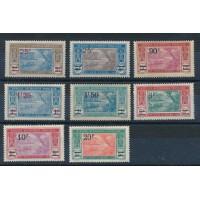 Cote d'Ivoire - numéro 73 à 80 - neuf avec charnière