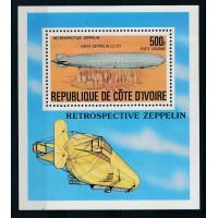Cote d'Ivoire - Bloc numéro 8 - neuf sans charnière